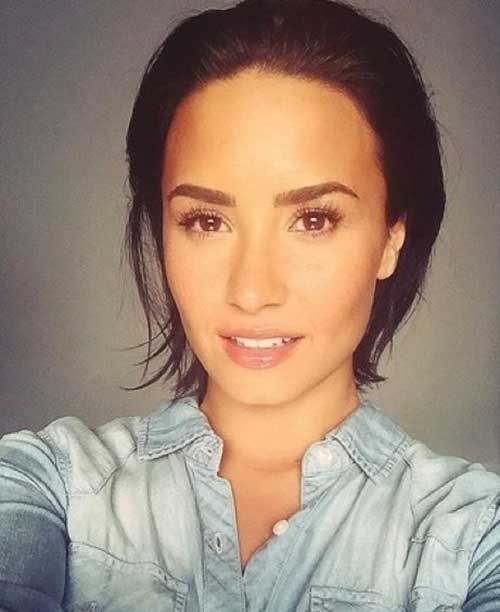 picture of short haircuts best 25 relaxed hairstyles ideas on 2088 | d9f14dd10018d0ea13a49af0a13a2088 demi lovato hairstyles duckface