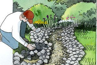 How to Make a Dry Riverbed Landscape (9 Steps) | eHow