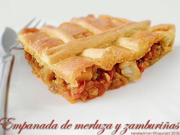Kanela y Limón: Empanada de merluza y zamburiñas / Paso a paso