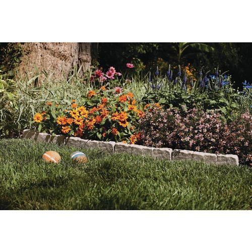 Flat Stone Edging: Suncast® Stone Border Edging (BSE10TG)