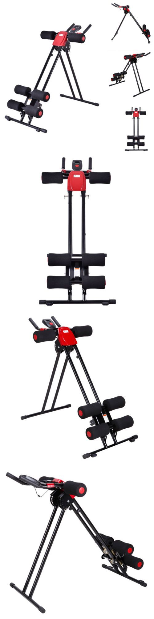 Abdominal Exercisers 15274: Finether Ab Cruncher Abdominal Trainer Glider Machine Fitness Exercise Equipment -> BUY IT NOW ONLY: $53.99 on eBay!