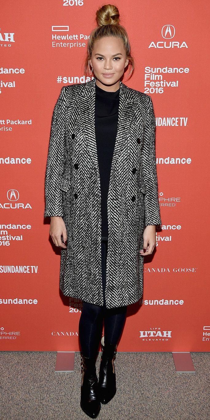 Chrissy Teigen wowed at the Sundance Film Festival.