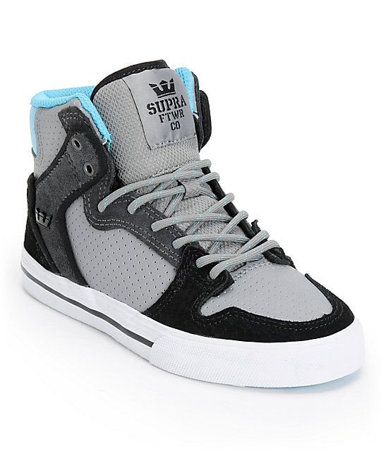 keep your young rider safe and looking their best in the supra kids vaider grey