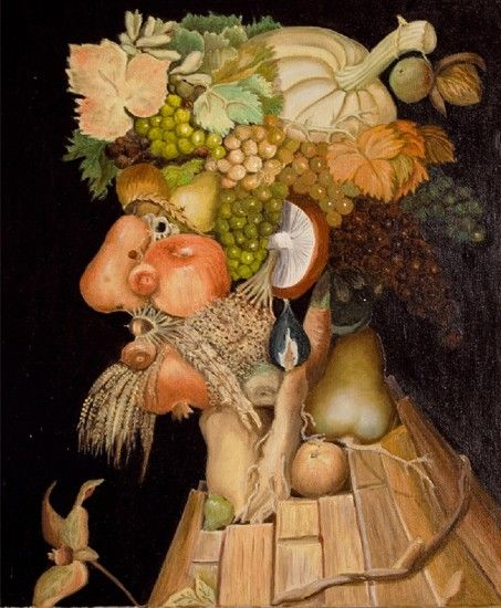 He was probably born in Milan in 1527 and is said to be from a family of painters. Arcimboldo