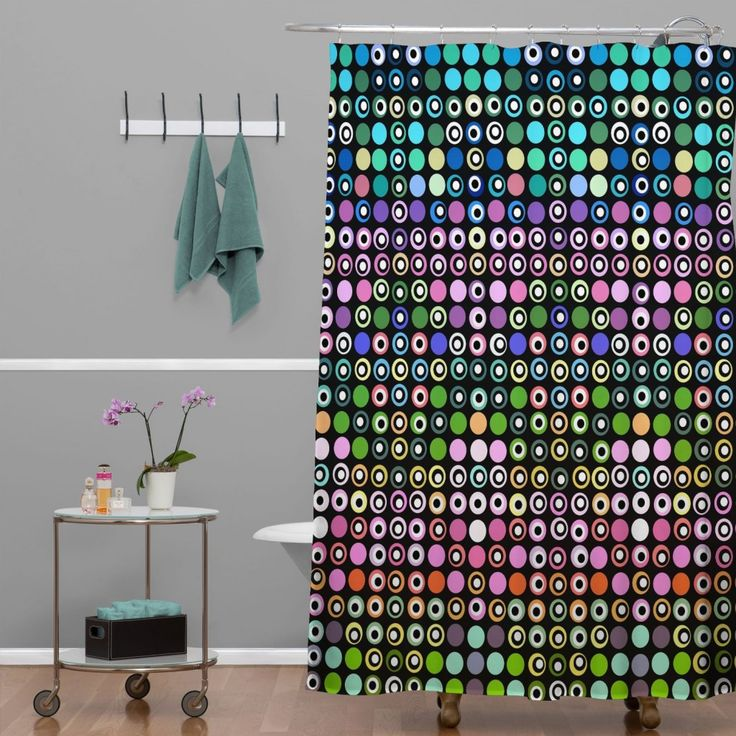 Funky Shower Curtains Pattern And Combinations   Http://www.appworship.com