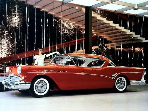 1957 Buick Roadmaster Hardtop Coupe.
