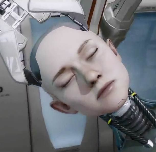 Kara, outstanding animation from Quantic Dream's