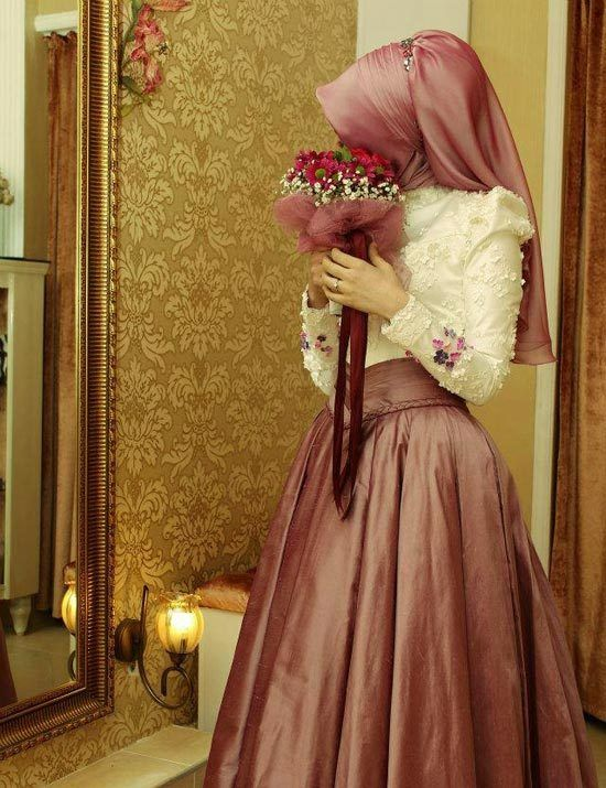 100+ Muslim Wedding Dresses  http://www.ultraupdates.com/2014/05/muslim-wedding-  dresses/  #white #Dresses