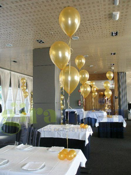 78 best images about centros de mesa globos on pinterest - Decoraciones de mesas ...