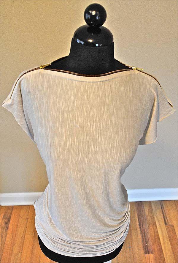 Fermuar Yakalı Tişört Yapımı