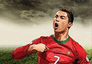 Dünya Kupası 2014 Penaltı oyununda C. Ronaldo'yu oyunun içerisinde topun başına geçen Ronaldo'nun topa vuruş yönünü, topun falsosunu ve gidiş yüksekliğini ayarlayarak vuruşunuzu gerçekleştirmelisiniz. http://www.3doyuncu.com/dunya-kupasi-2014-penalti/