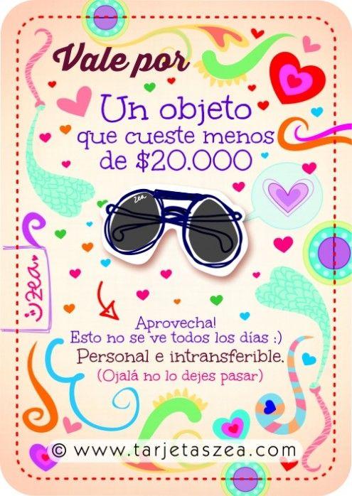 regalo © ZEA www.tarjetaszea.com