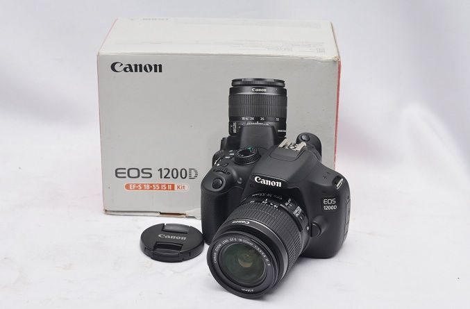 Jual Kamera DSLR Bekas – Canon EOS 1200D: Kamera DSLR Bekas - Canon EOS 1200D Harga: Rp. 3.750.000,- (Ready Stok)