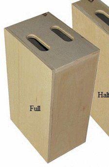 Advantage Gripware Apple Box Posing Prop, Full Apple Box 12 x 20 x 8 inches | Studio lighting