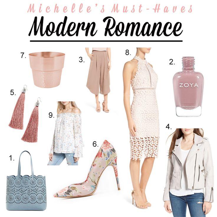 Michelle's Must-Haves : Modern Romance  http://openhartz.com/home/2017/4/24/michelles-must-haves-modern-romance
