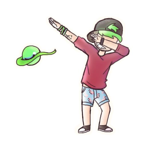 LEAN AND DAB | Jacksepticeye by Puppyrelp