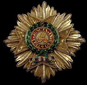 Most Honourable Order of the Bath Knight Grand Cross (G.C.B.) Breast Star