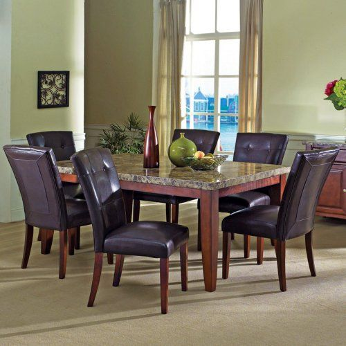 Christcome Aaa Furniture Wholesale 422 Marble Top Dining TableKitchen