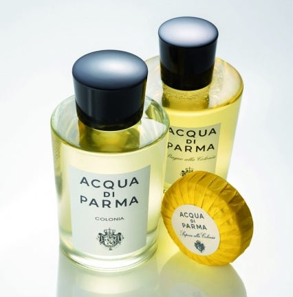 Acqua di Parma is an Italian perfume company which produces a lightly scented fragrance.
