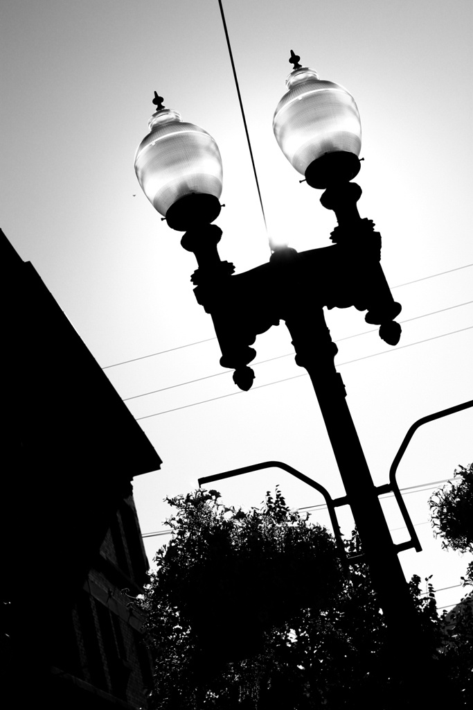 Light. Ogden Utah. Black and white. High Contrast. Photo by Harvey Brand Imagery (Me).