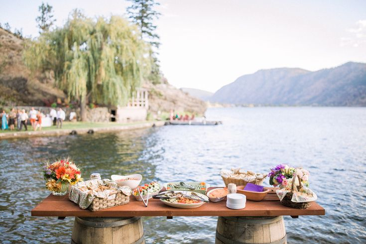 Lakeside Wedding Catering, Penticton Top Wedding Catering, Kelowna Best Wedding Caterers