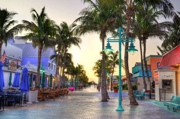 Times Square, Fort Myers Beach, My husband & I love this place. We always have an amazing time every time we visit!