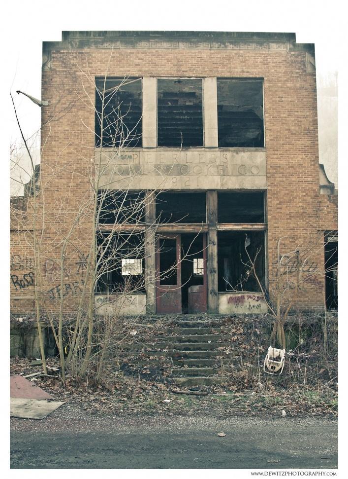 Peerless Coal and Coke Historic Company Store - Vivian, West Virginia
