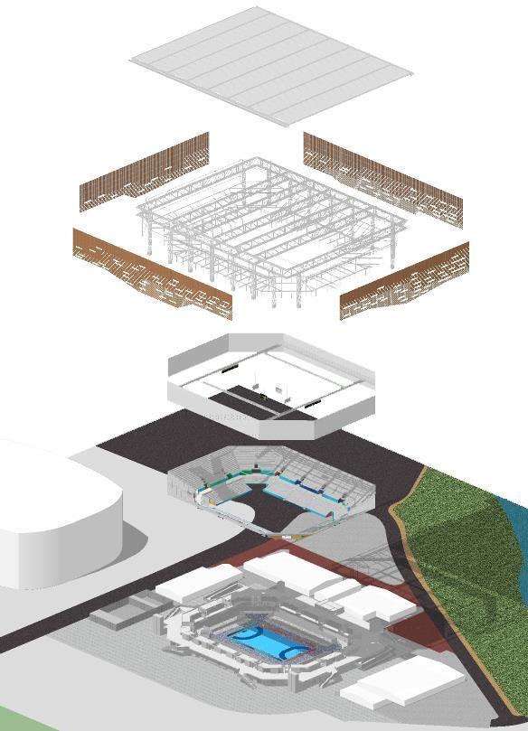 Galeria de Arena Olímpica de Handebol e Golbol / OA