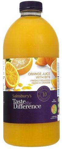 orange juice vaginal taste
