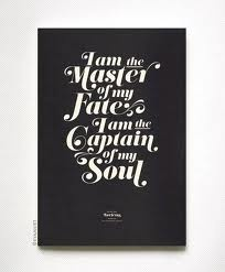 Invictus by William Ernest Henley #invictus #Henley #master #fate #captain #soul