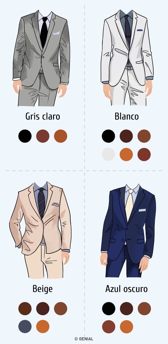 Cómo combinar colores yestilos para lucir guapo