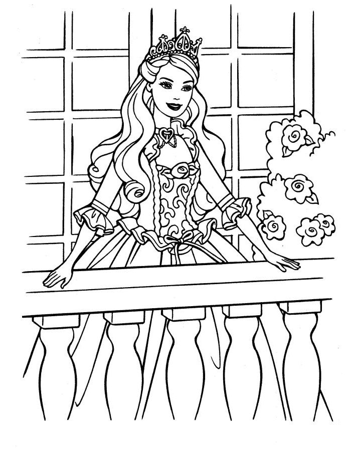 princess barbie coloring pages sheet coloring pages to