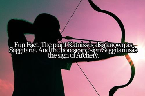 Fun fact about Katniss's name.