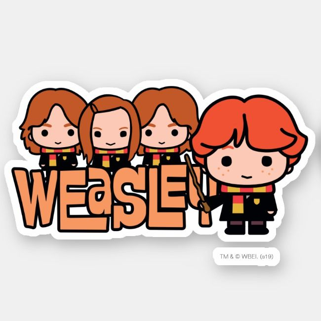 FROM THE FILMS OF HARRY POTTER X4O LOOSE STICKERS
