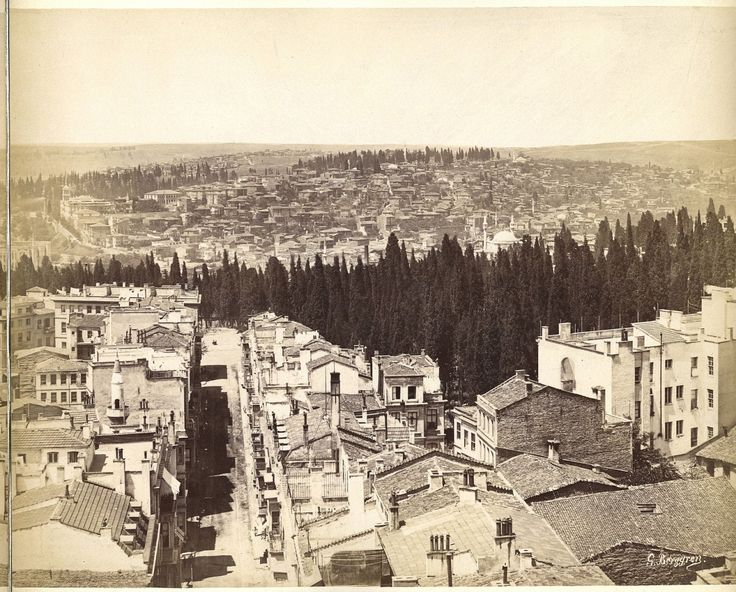 Galata Kulesi ISTANBUL 1875