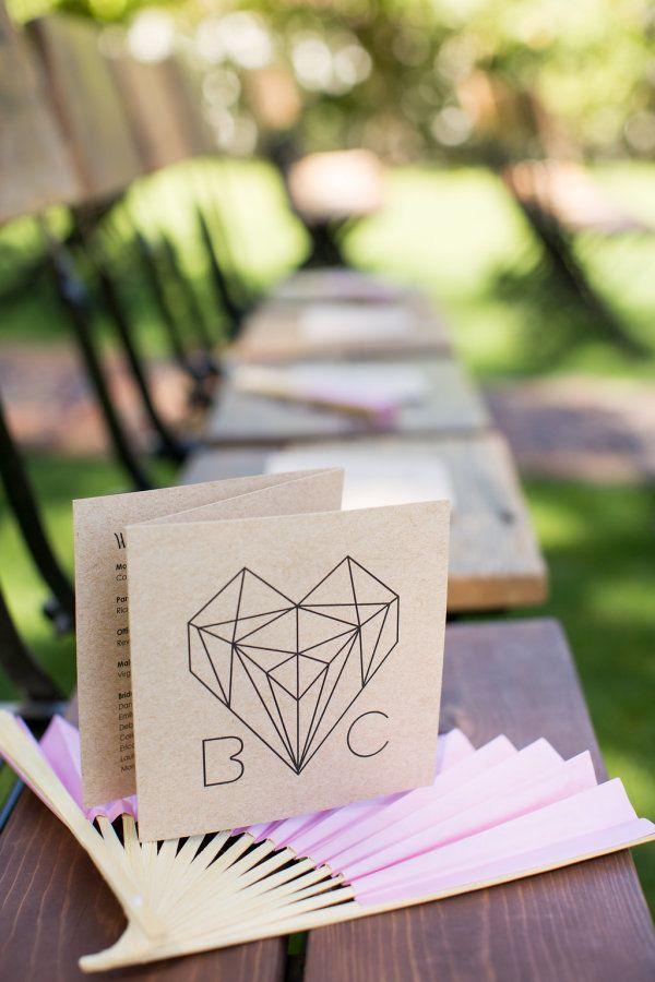 Unique wedding invitation: http://www.stylemepretty.com/little-black-book-blog/2016/12/29/modern-boho-palm-springs-estate-wedding/ Photography: Betsi Ewing - http://betsiewing.com/