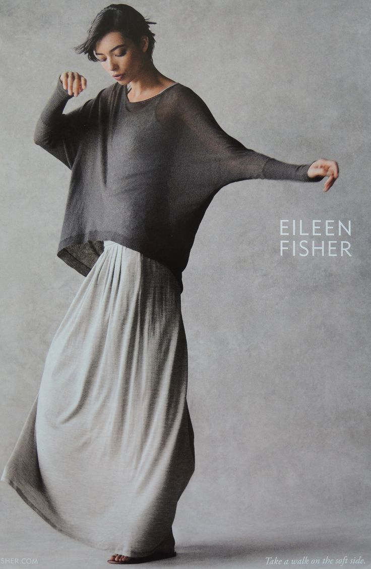 Stephanie Cullum: Eileen Fisher is an American clothing designer and founder of the American women's clothing retailer, Eileen Fisher, Inc. Her clothing is known for simplicity. The company has sometimes used non-traditional models in print advertisements, including its own employees.