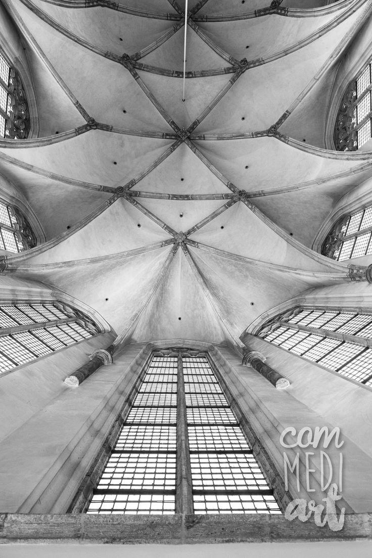 Geestdrift Festival. Ceiling of a historic church, The Netherlands  Photography: Jeanine Polderdijk for ComMediArt