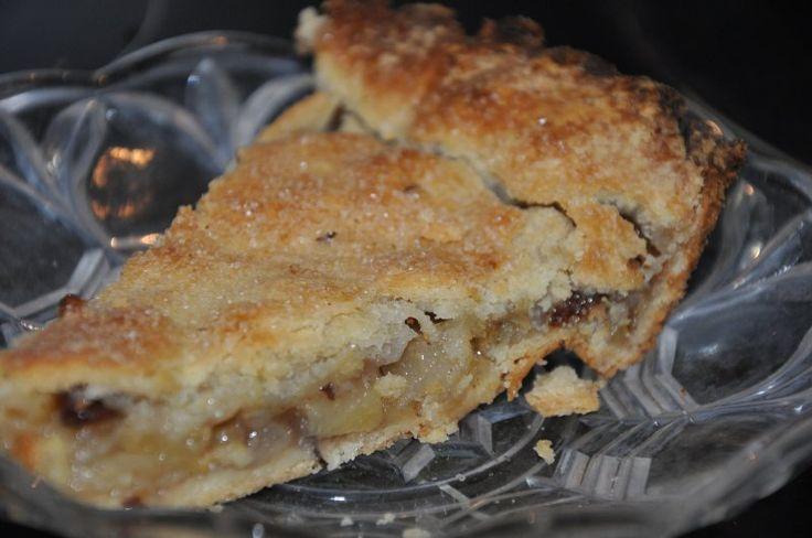 Bedstemor Ands æbletærte, Danmark,Andet, Dessert, Grill, opskrift