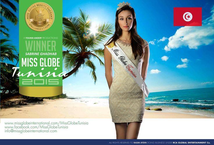 Exclusif : Miss Globe International en Tunisie