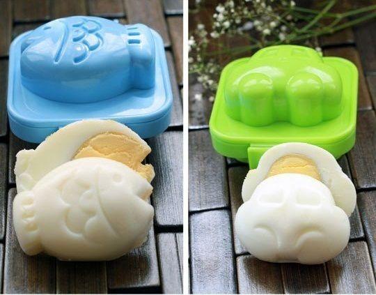 Japanese Egg Mold – $4  How awesome I love hard/soft boiled eggs!!!