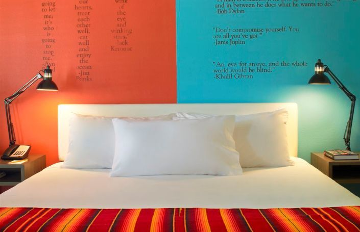 st pete's, fla: renovated 50s motel right on the sands..