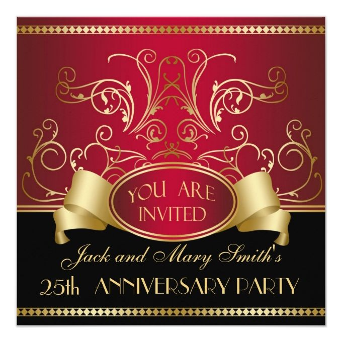 1307 best 50th birthday invitations images on pinterest, Party invitations
