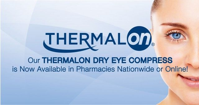 Thermalon Dry Eye Available in Drugstores Nationwide.