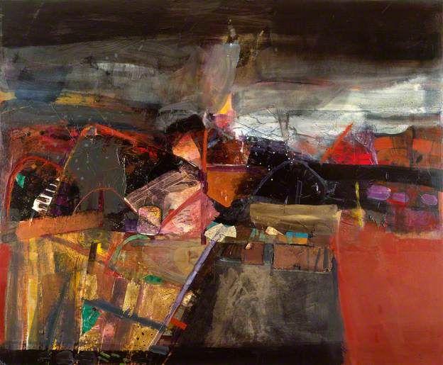 West Highland Landscape by Barbara Rae (b.1943)