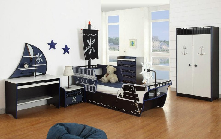 Little Devils Direct Kids Pirate Bedroom Set Let Them