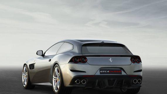 Суперкар Ferrari GTC4Lusso 2016 / Феррари GTC4Lusso 2017