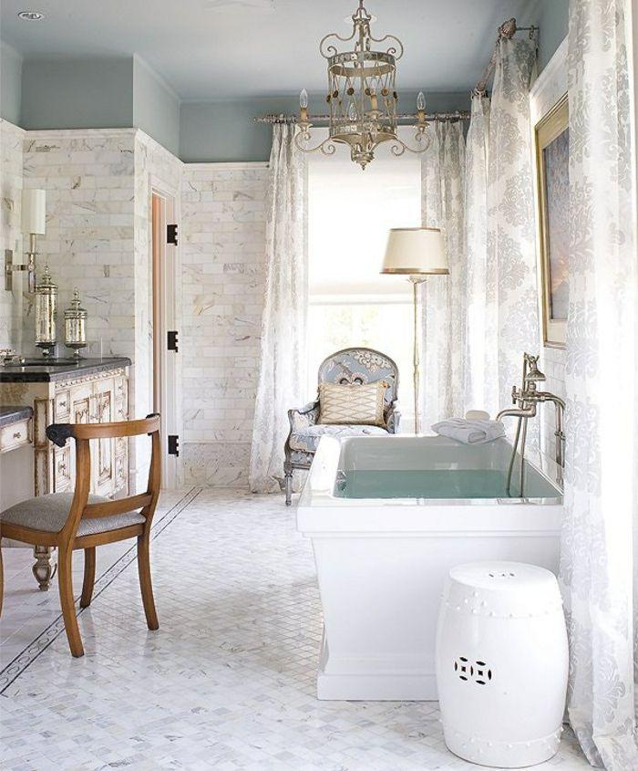 1001 Ideas De Decoracion De Banos Blancos Modernos Bathroom