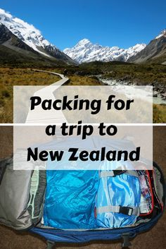 Packing tips for a trip to New Zealand