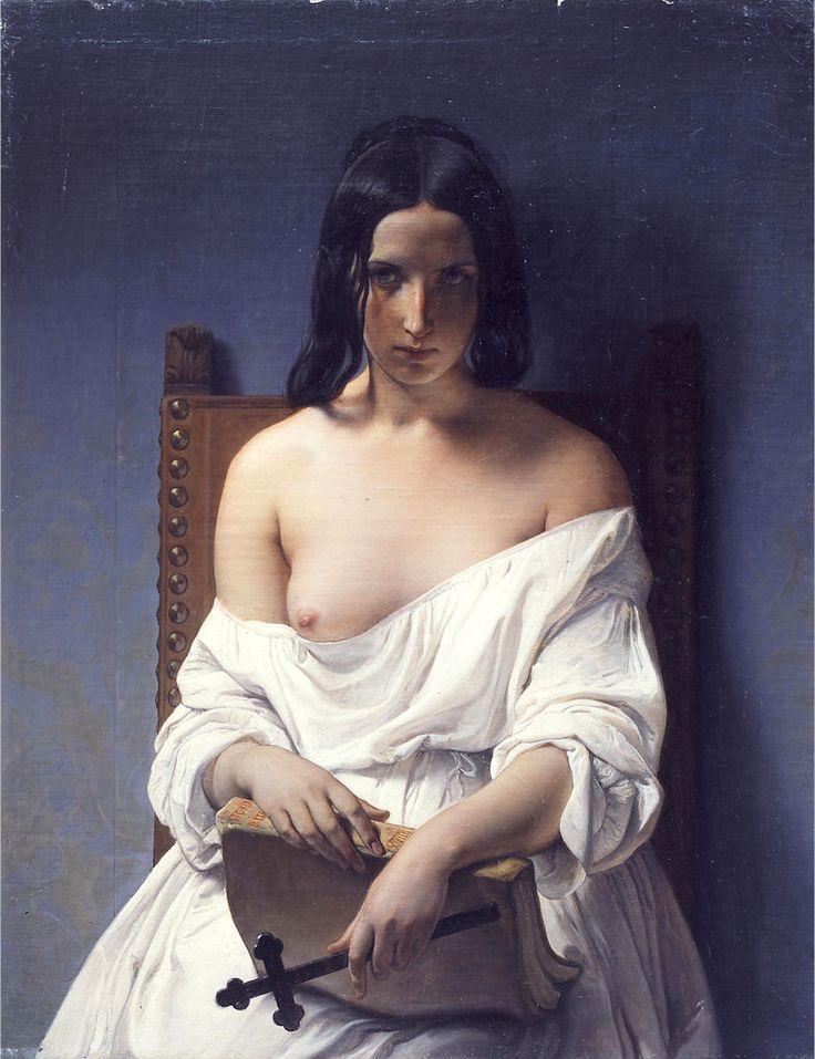 Meditazione. F. Hayez (1851)